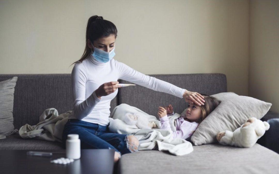 Cómo no confundir la gripe con la COVID-19